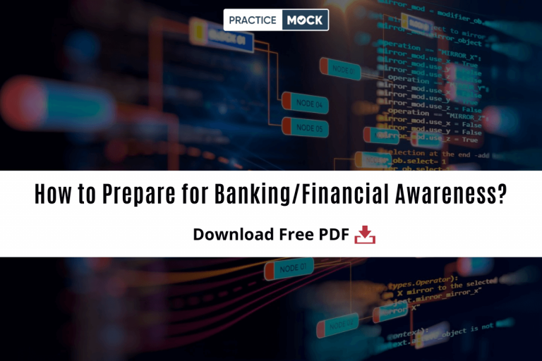 How to Prepare for Banking:Financial Awareness? Download PDFs