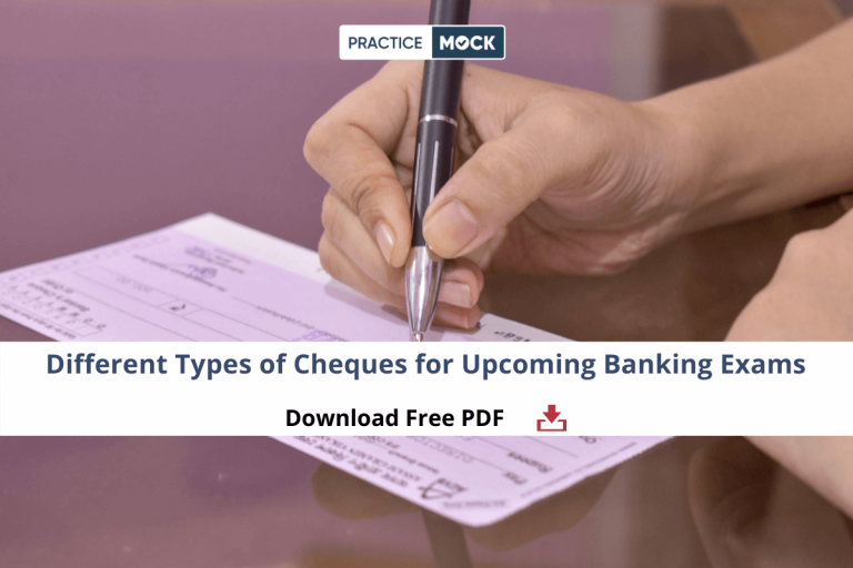 Different Types of Cheques for Upcoming Banking Exams- Download PDF (1)