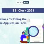 SBI Clerk 2021 Application Form