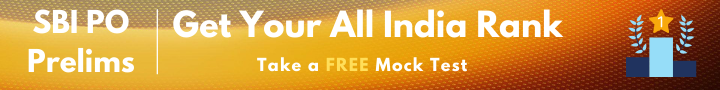 SBI PO Prelims Free Mock Test-1