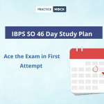 IBPS SO Study Plan