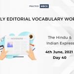 Hindu Editorial June 4