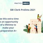 Prepare for SBI Clerk Prelims 2021