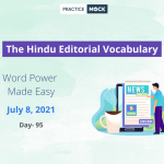 The Hindu Editorial Vocabulary– July 8, 2021; Day 95