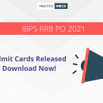 RRB PO 2021 Admit Cards