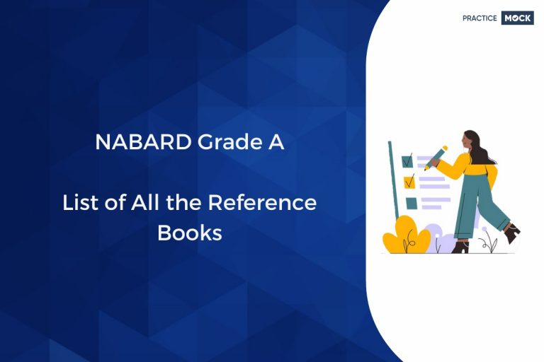 NABARD Grade A List of All the Reference Books