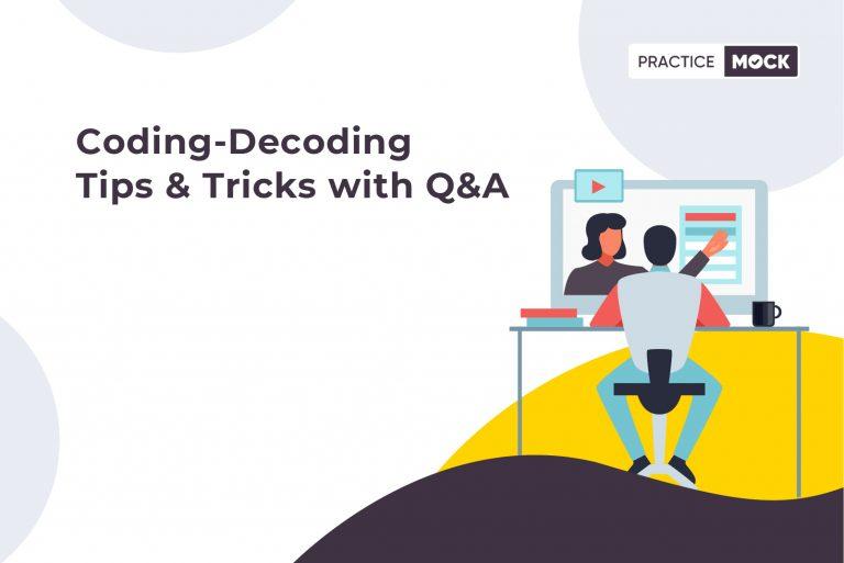 Coding-Decoding Tips & Tricks