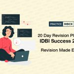 20-Day Revision Plan for IDBI Success-2021