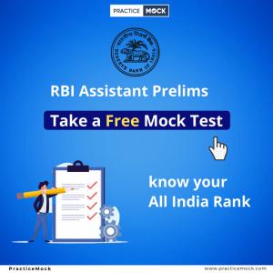 RBI Assistant Prelims