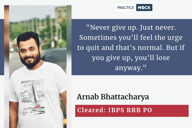 RRB PO success story