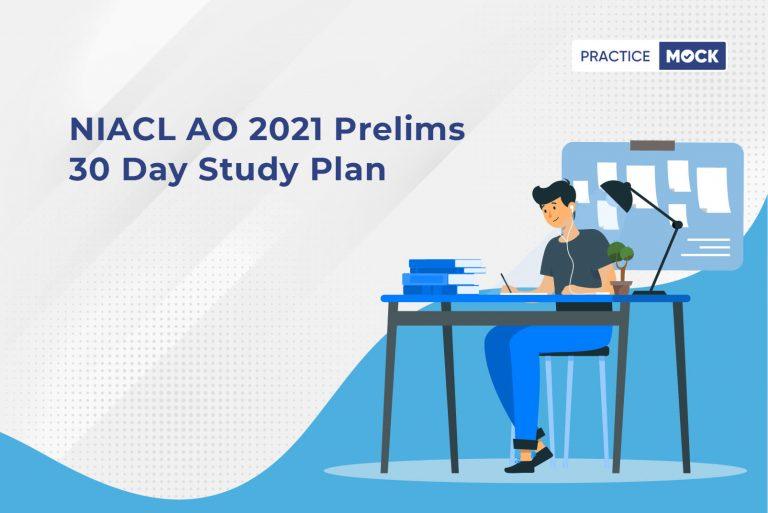 NIACL AO Study Plan