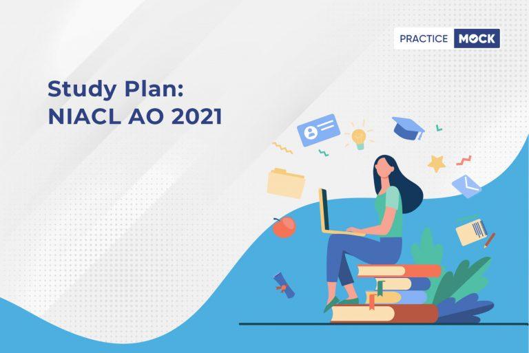 30 Day Study Plan-NIACL AO-