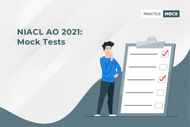 NIACL AO 2021-Mock Tests