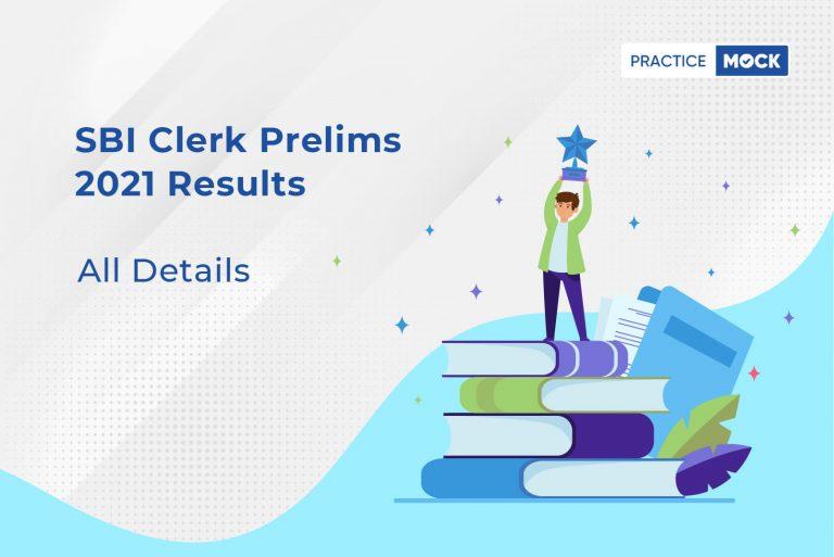 SBI Clerk Prelims Results 2021