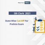 SBI Clerk Prelims Cut-offs