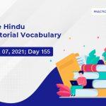 The Hindu Editorial Vocabulary– Oct 7, 2021; Day 155